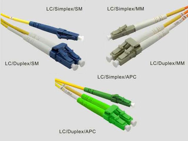 Patchcordy światłowodowe w oparciu o złącza LC/PC, LC/APC